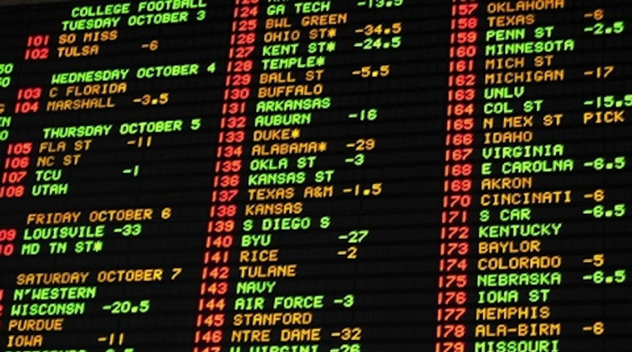 las vegas line college football nfl sports books