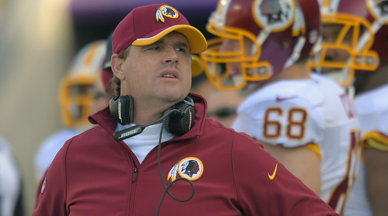 Washington Redskins coach Jay Gruden says his team could be 7-2.