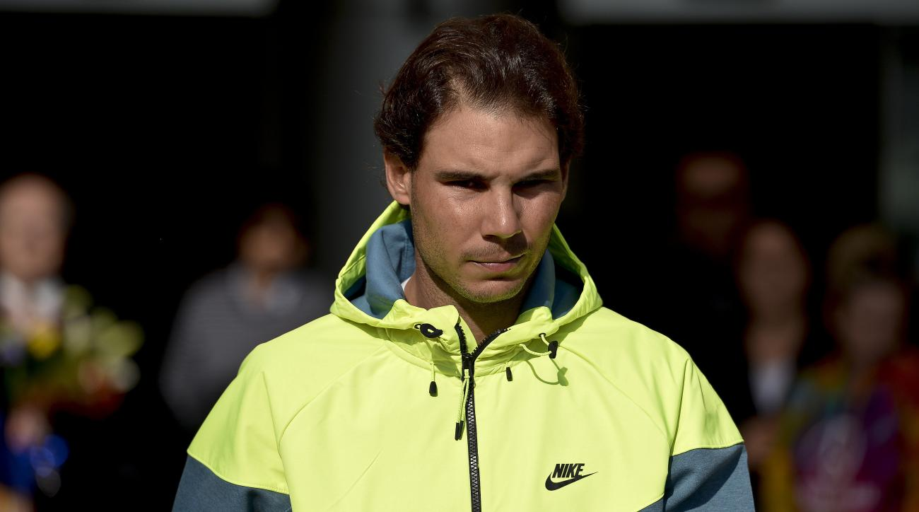 Rafael Nadal has stem cell treatment for back injury
