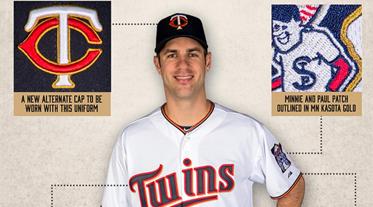 New Twins home uniform