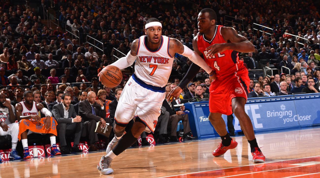 Knicks Carmelo Anthony Phil Jackson