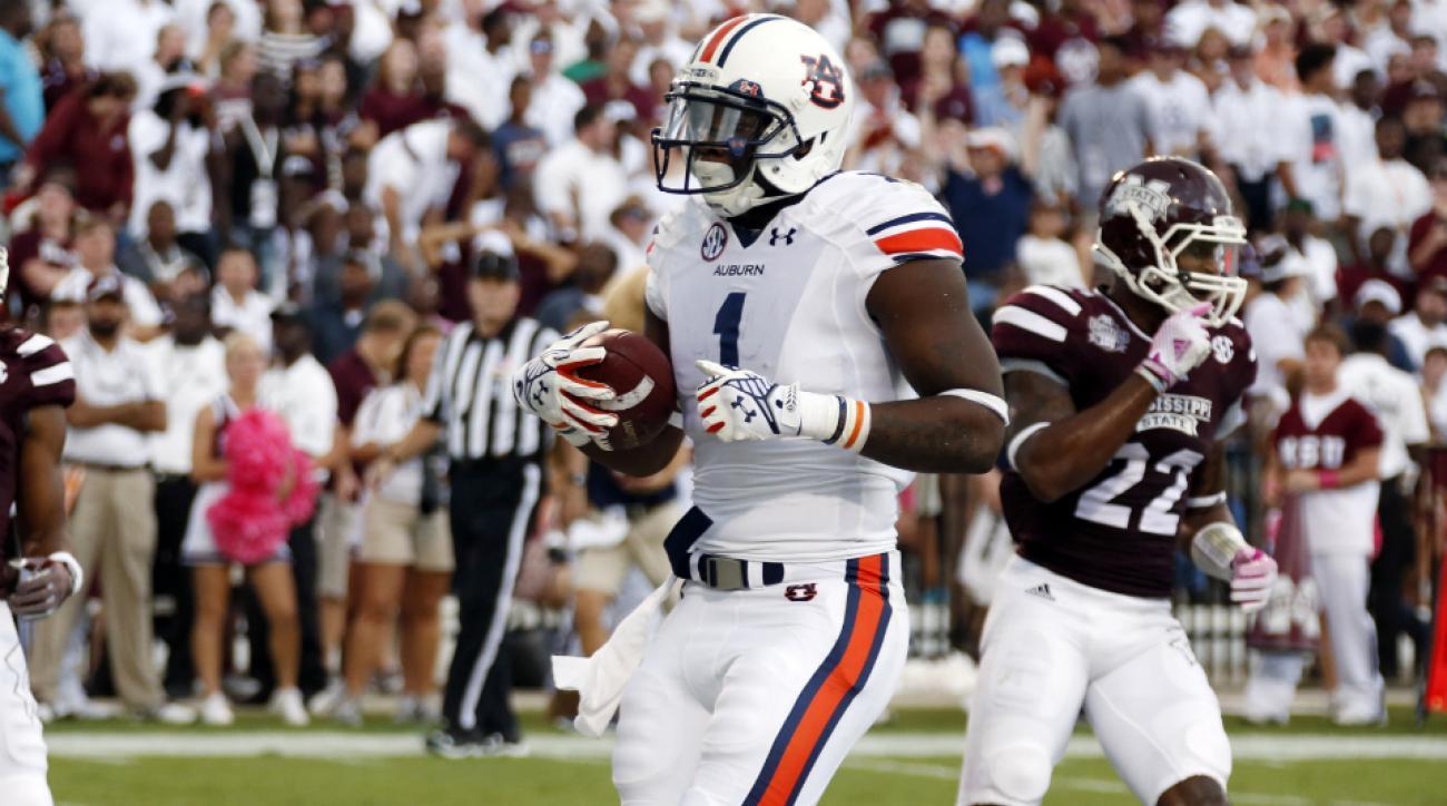 Auburn Duke Williams injury vs Georgia