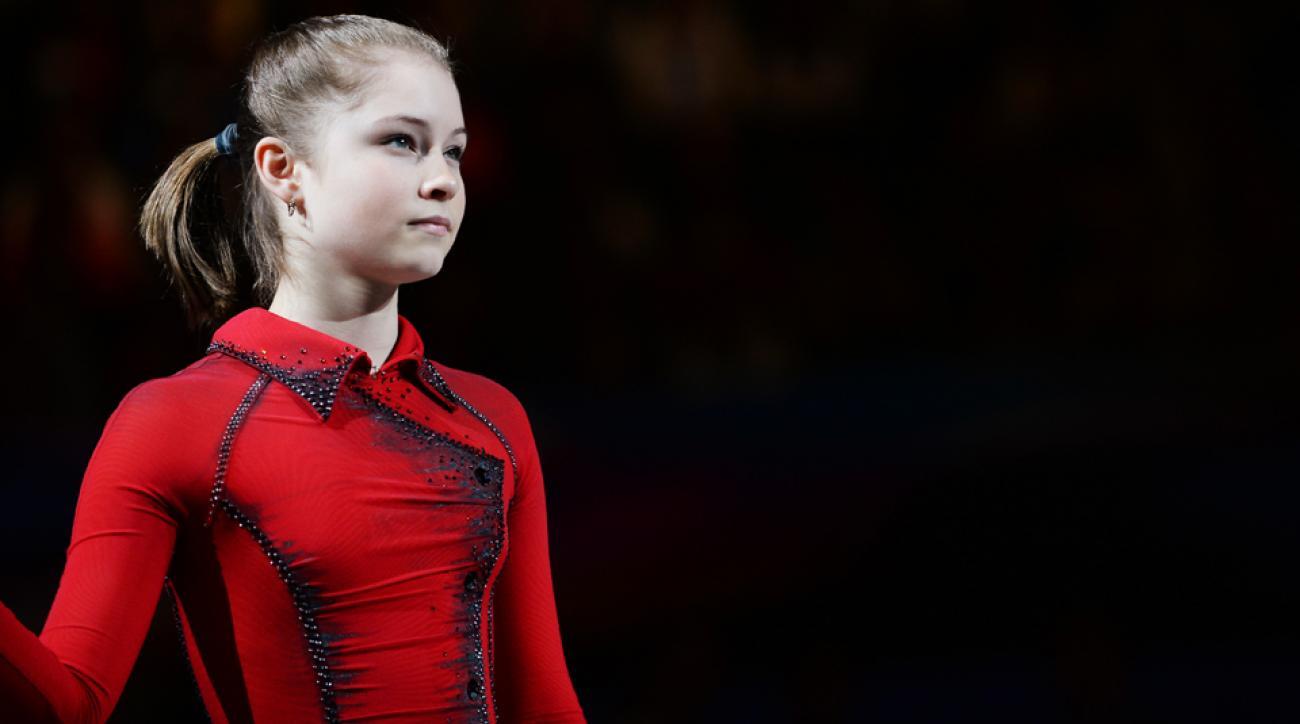 Russian skater Julia Lipnitskaia is struggling with stress after winning a gold medal in Sochi.