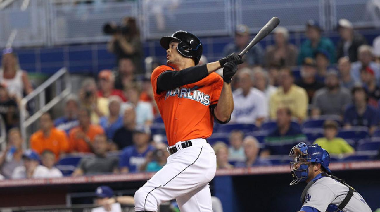 Giancarlo Stanton Marlins contract talks