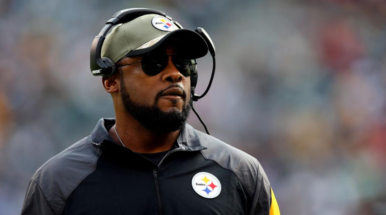 Pittsburgh Steelers coach Mike Tomlin