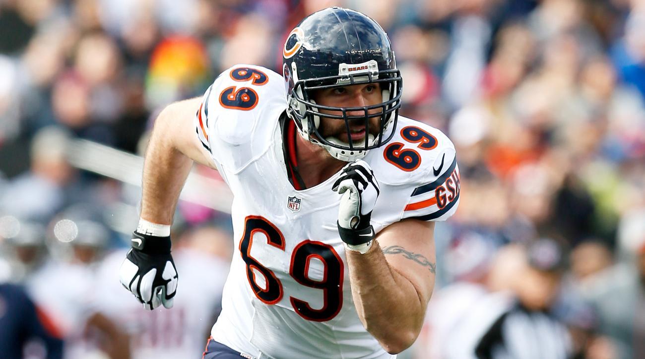 Bears' Jared Allen playoffs