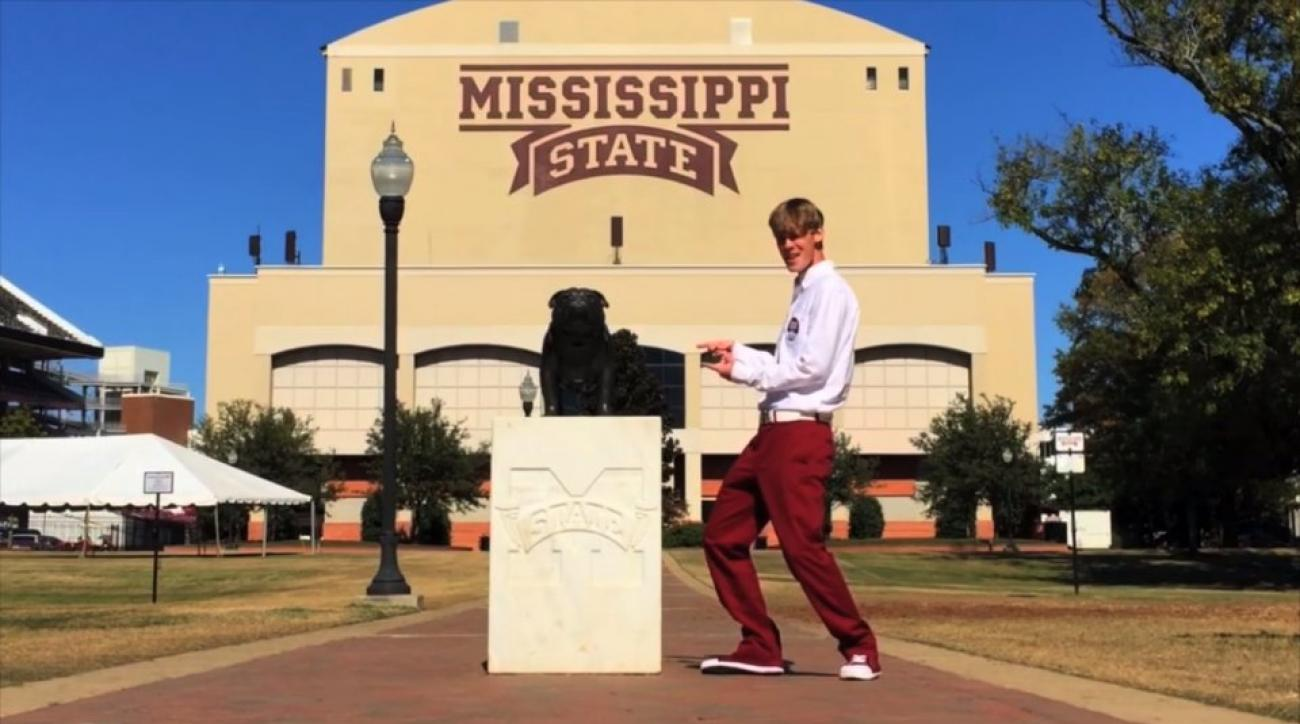 "Mississippi State fan makes ""All About That State"" parody song"