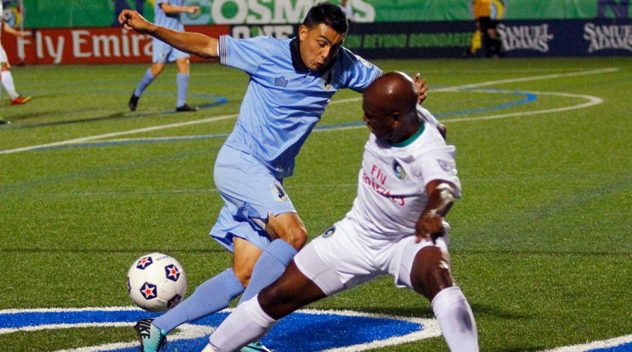Miguel Ibarra is among 11 players on the NASL's Best XI list.