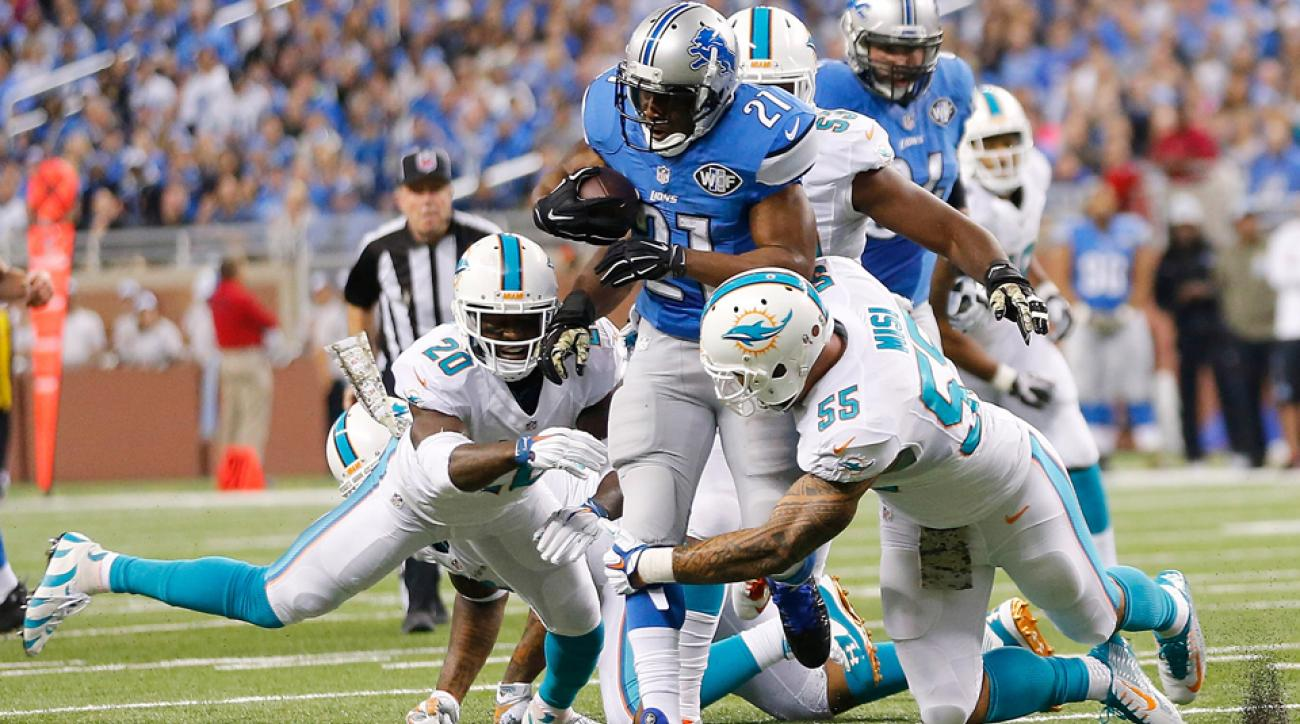 Detroit Lions RB Reggie Bush may not play against the Arizona Cardinals, his coach Jim Caldwell says.