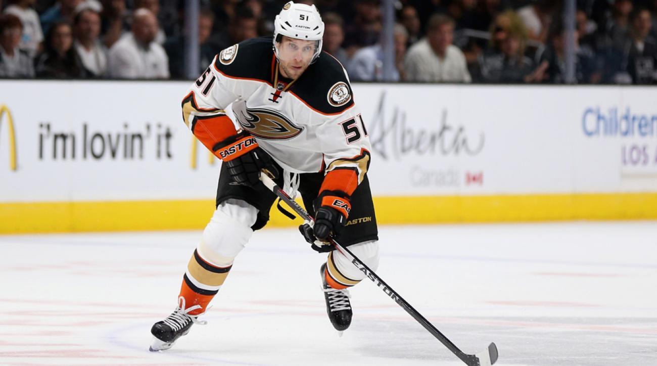 anaheim ducks dany heatley injury