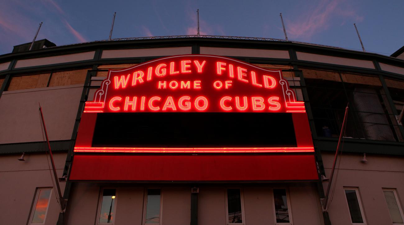 Chicago Cubs night home opener