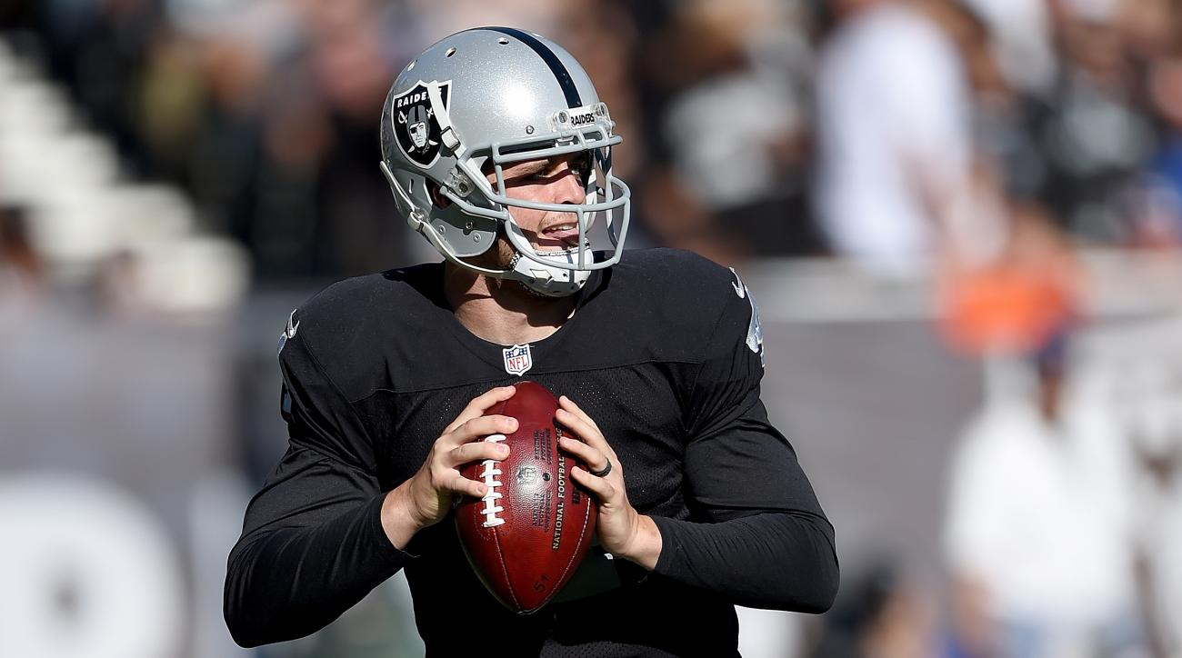Raiders' Derek Carr