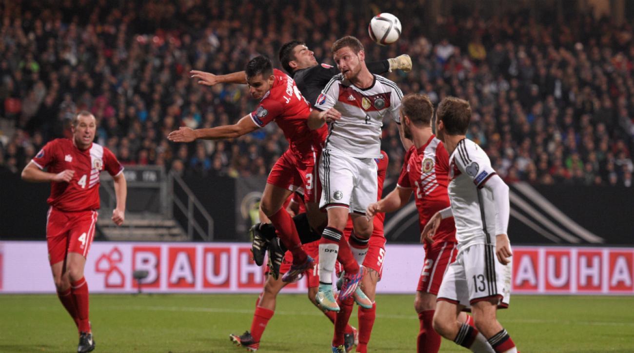 Germany vs Gibraltar Euro 2016 qualifying