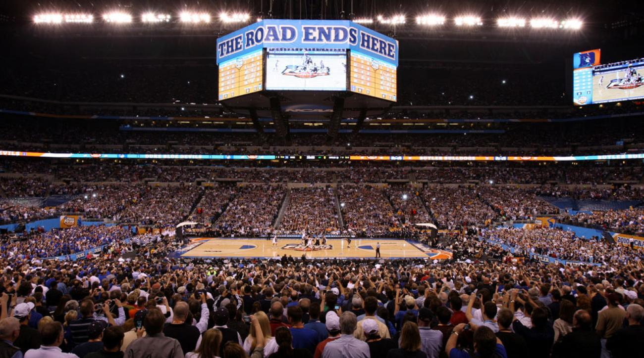 Lucas Oil Stadium will host the Final Four in 2015 and 2021