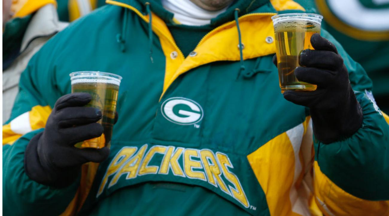 Green Bay Packers self-serve beer