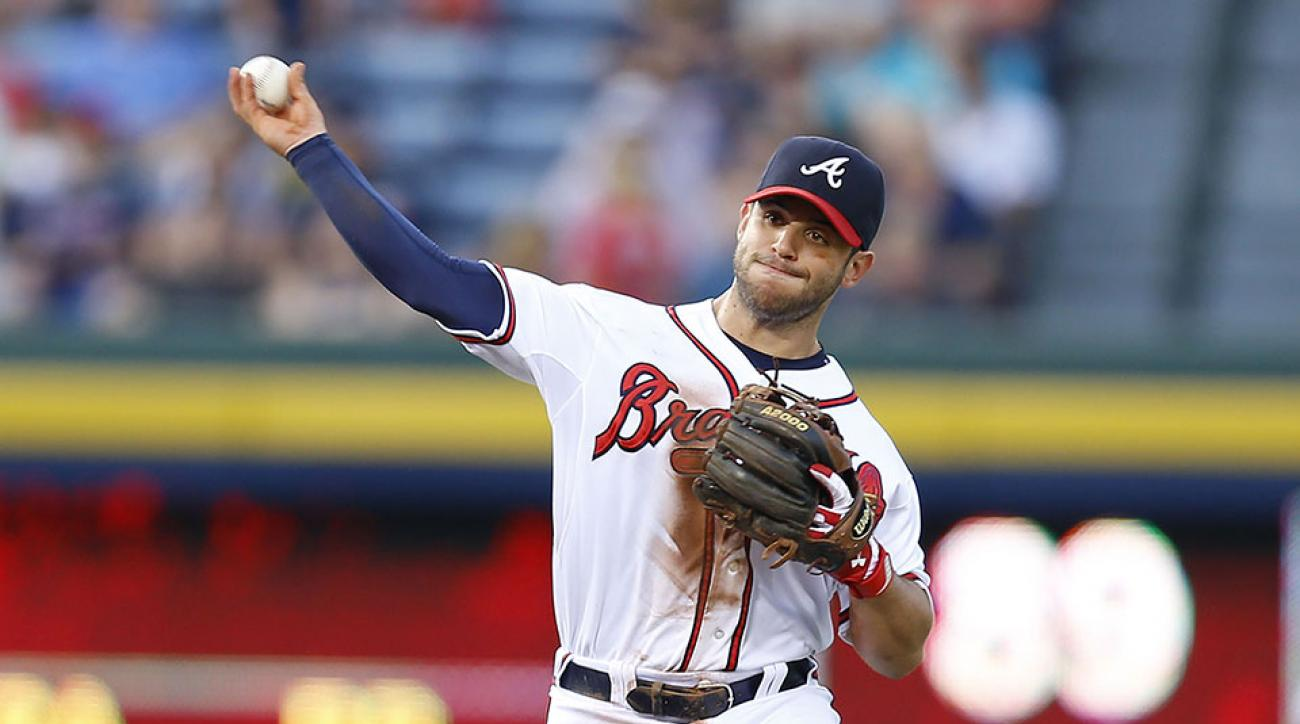 Braves second baseman Tommy La Stella has been traded to the Cubs