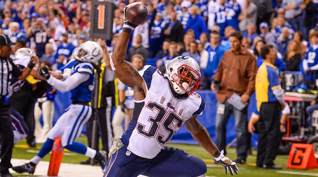 Jonas Gray, Jamie Collins shine as Patriots roll past Colts in Indy