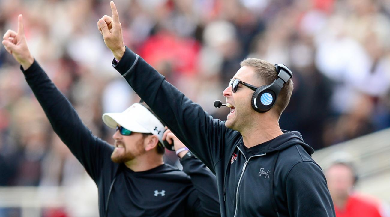Texas Tech Red Raiders coaches believe a former coordinator gave away their signals.