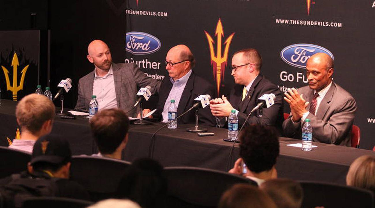 Arizona State hockey presser
