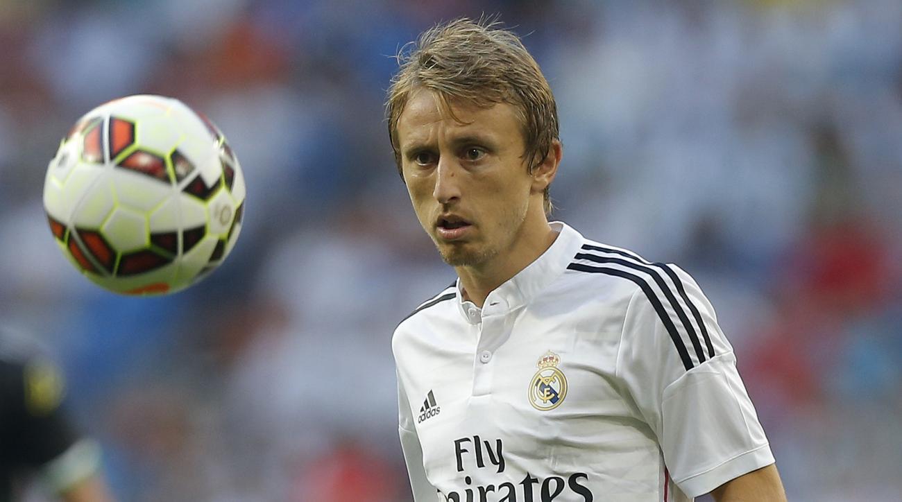 Luka Modric out three months