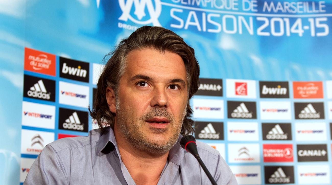 Marseille president Vincent Labrune arrested