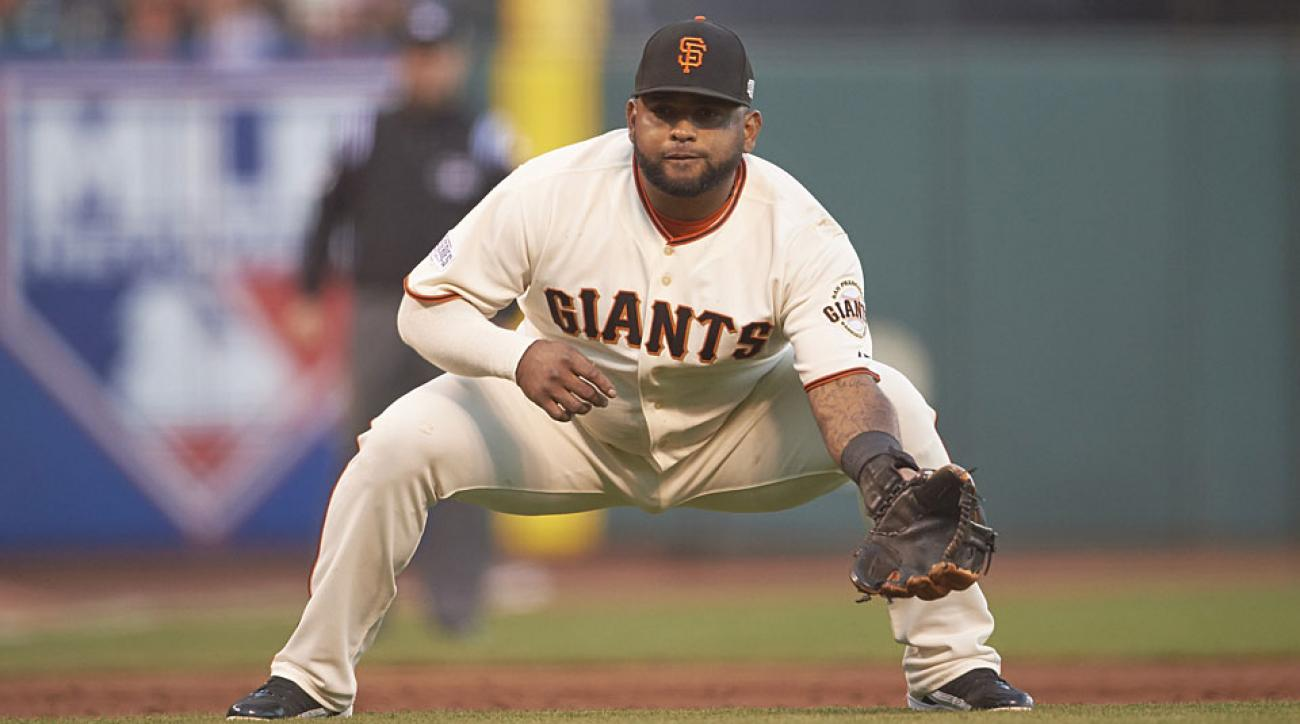 Pablo Sandoval, San Francisco Giants