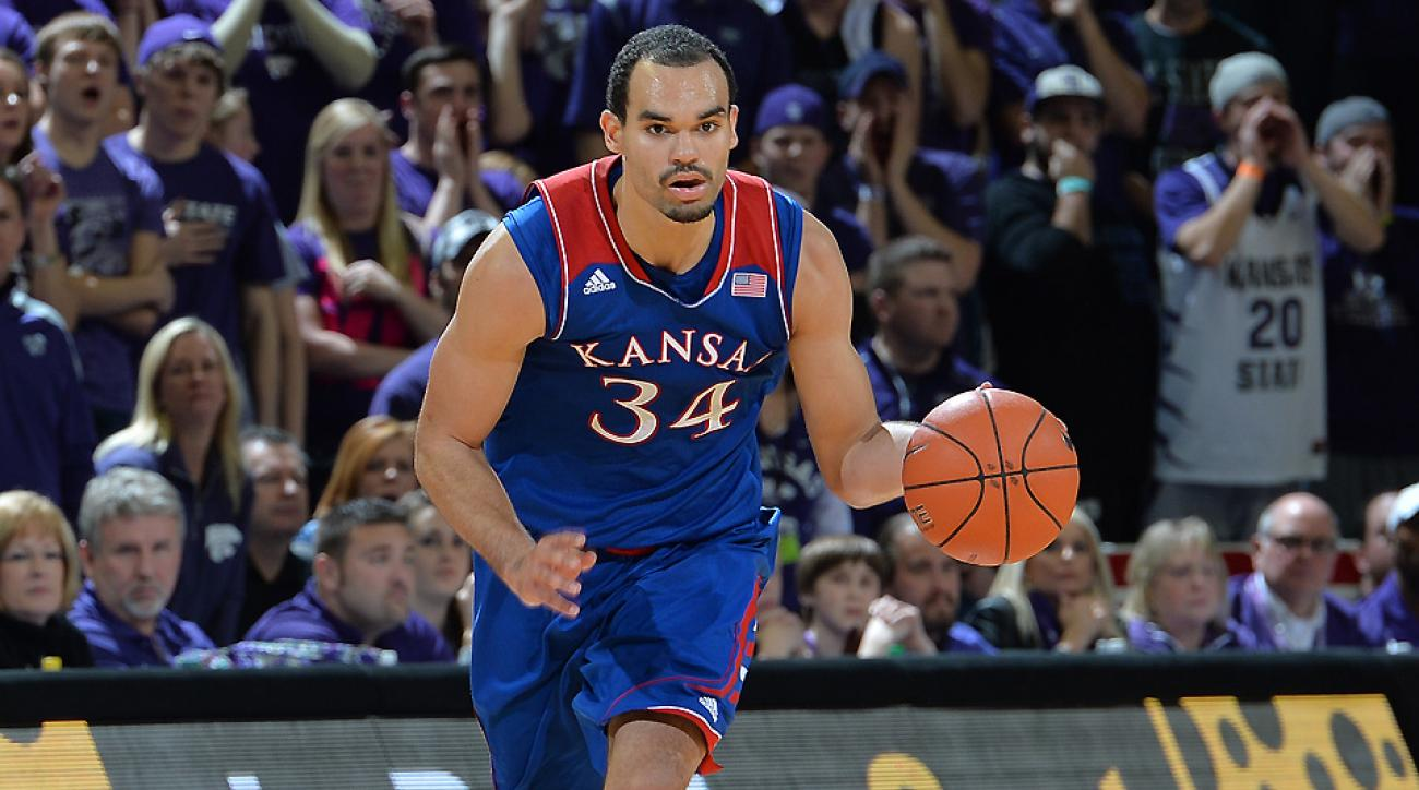 Kansas will rely on Perry Ellis especially early on in the season as its star freshman class adjusts to the college game.