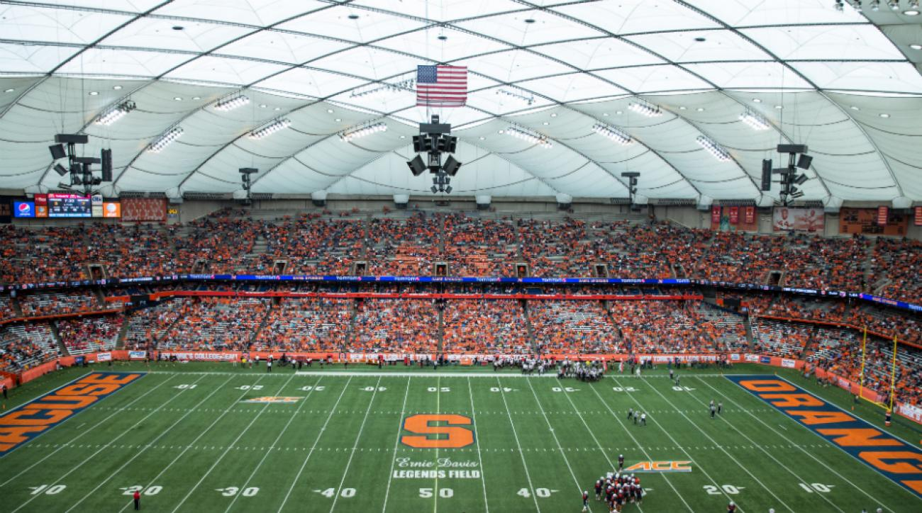 Carrier Dome host AHL game