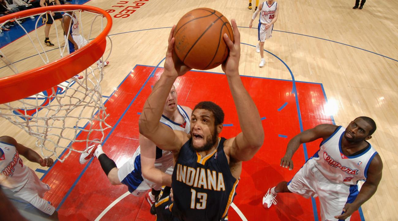 David Harrison, formerly of the Indiana Pacers, discussed the Malice at the Palace.