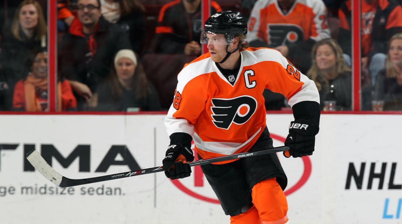 Philadelphia Flyers Claude Giroux