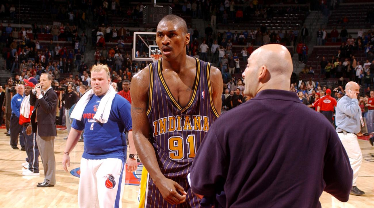 Ron Artest Malice at the Palace