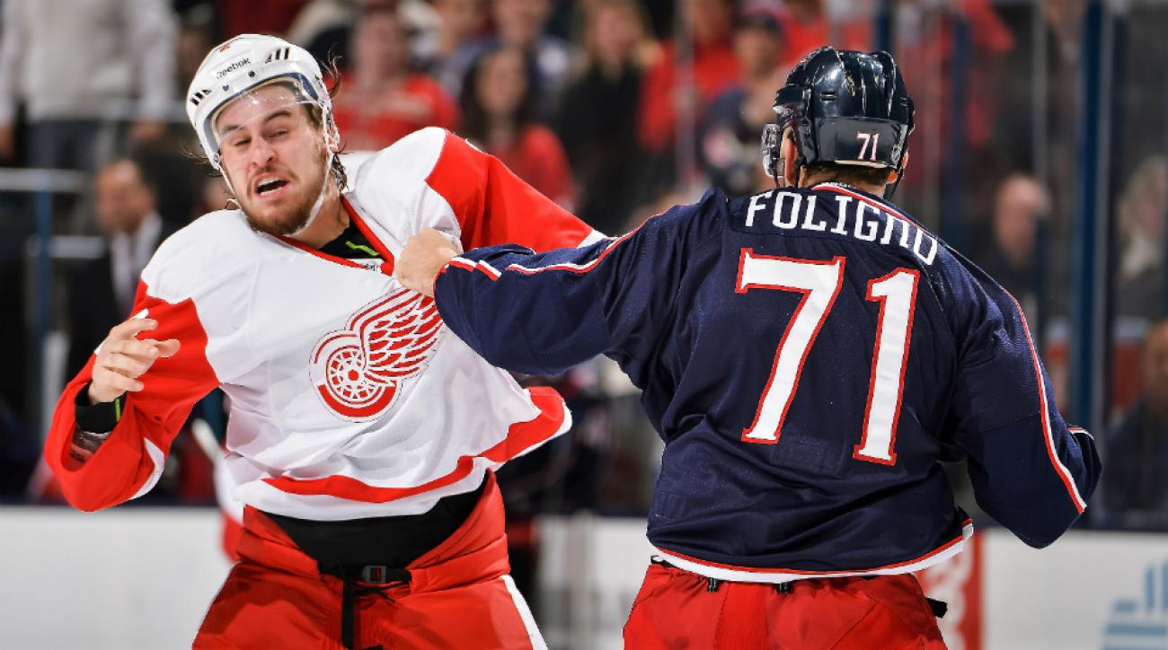 Red Wings D Brendan Smith short-term IR hand infection