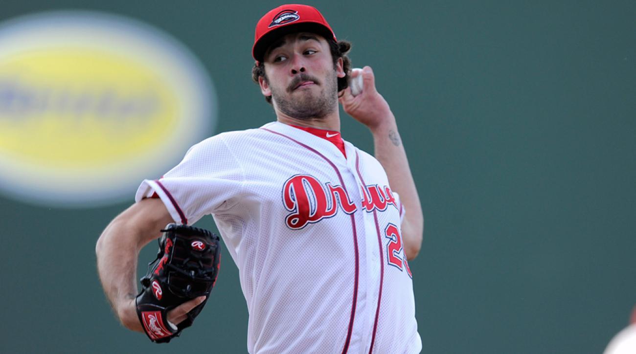 Cody Kukuk pitching