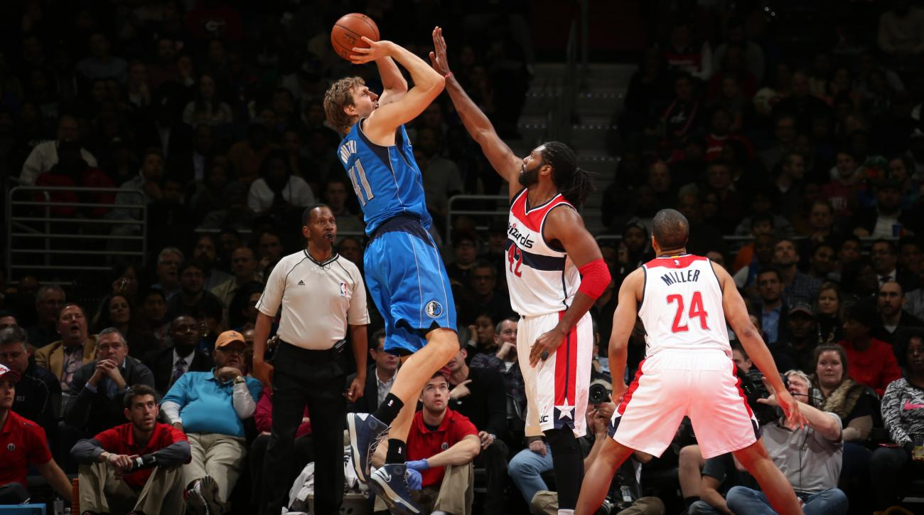 Mavericks' Dirk Nowitzki ankle injury