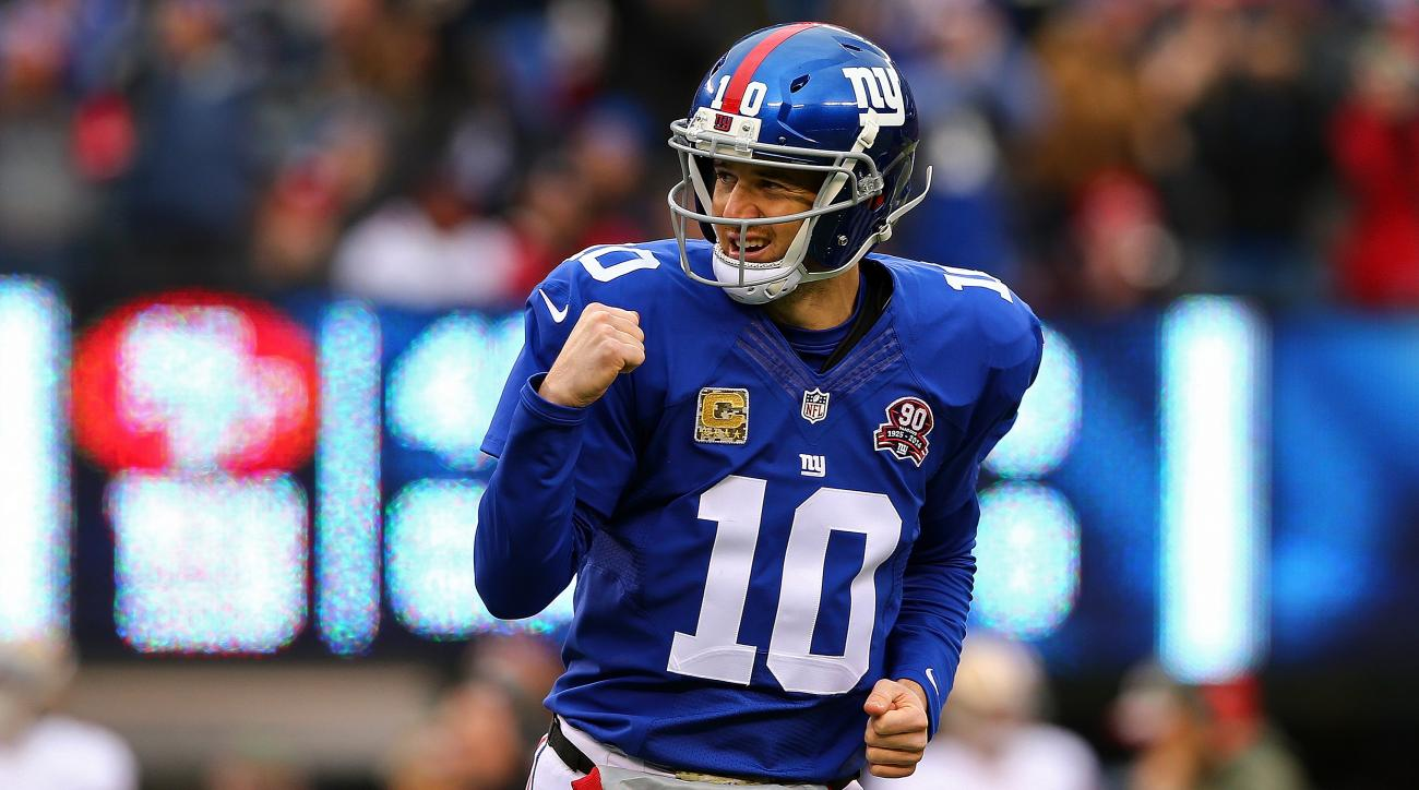 Eli Manning retire with Giants