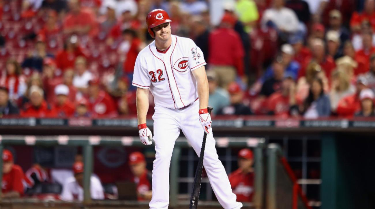 Reds discussing trade Jay Bruce