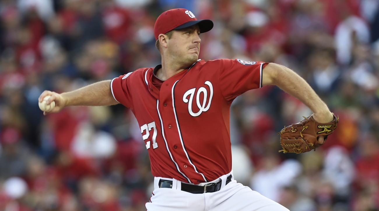 Nationals pitcher Jordan Zimmermann available in trades