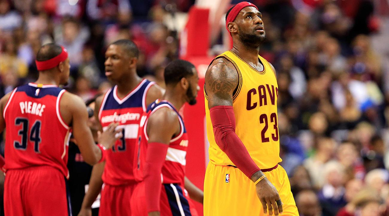 LeBron James and the Cavaliers were left searching for answers after their 91-78 loss to the Wizards.