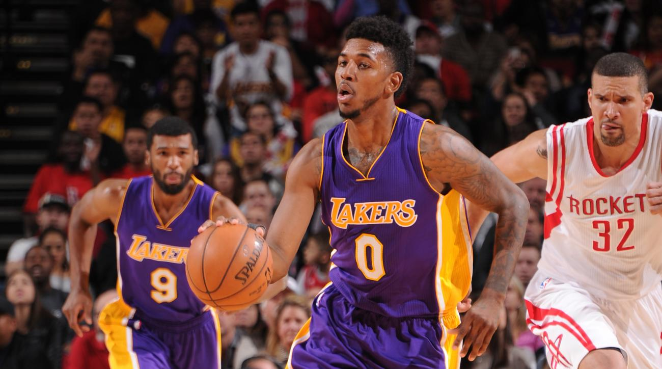 Lakers Nick Young flopping