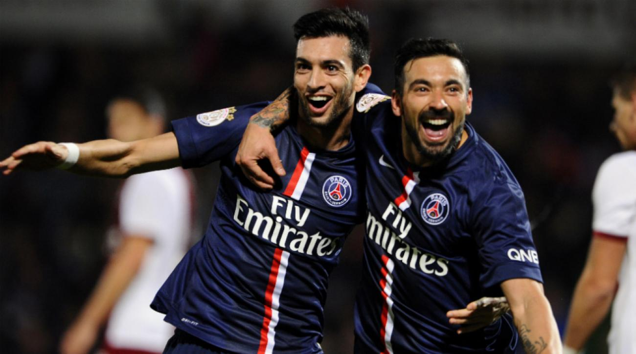PSG-Metz French league lead