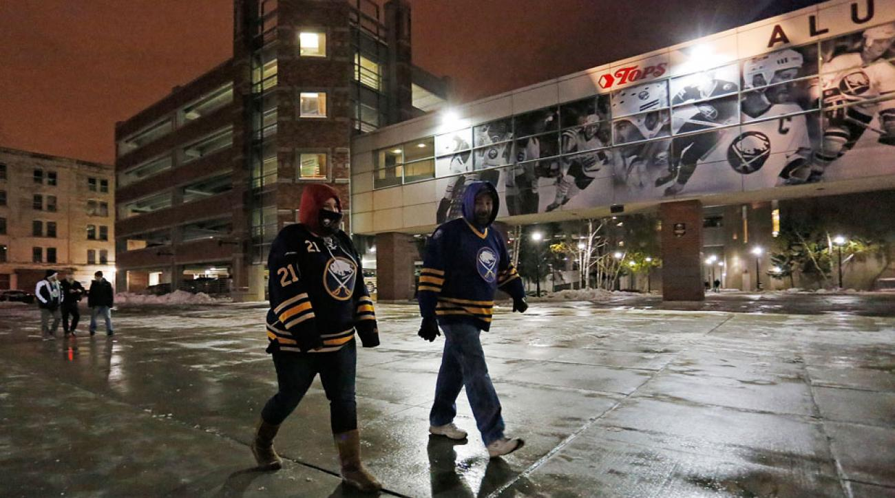 Sabres-Rangers game rescheduled