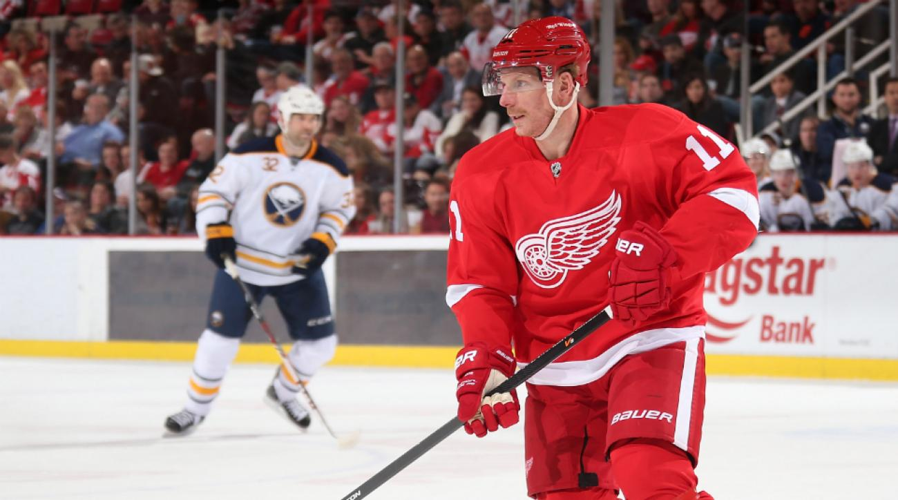 Red Wings' Daniel Alfredsson won't play 2014