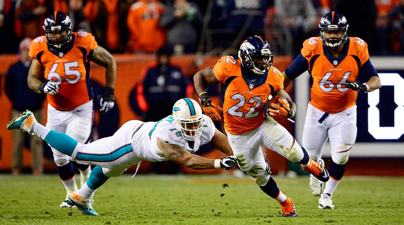 C.J. Anderson showing his mettle in crowded, young Broncos backfield