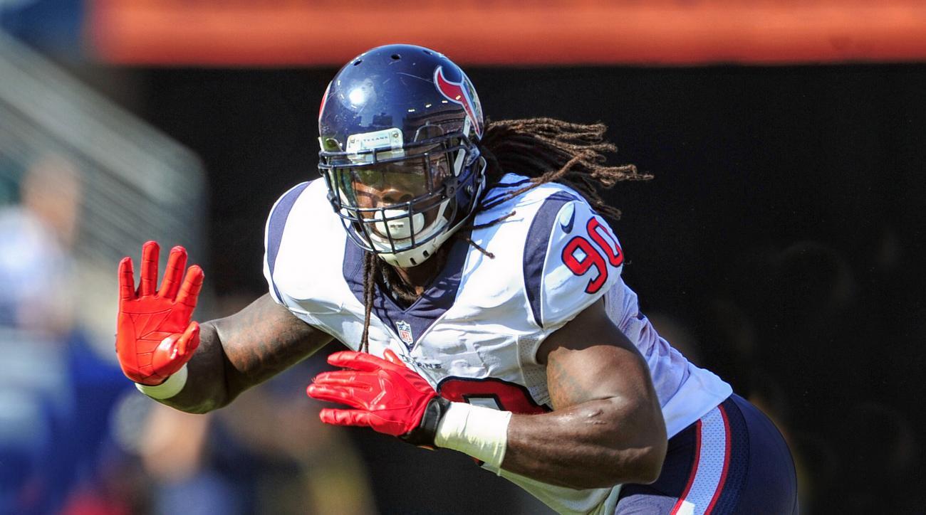 Houston Texans Jadeveon Clowney knee injury