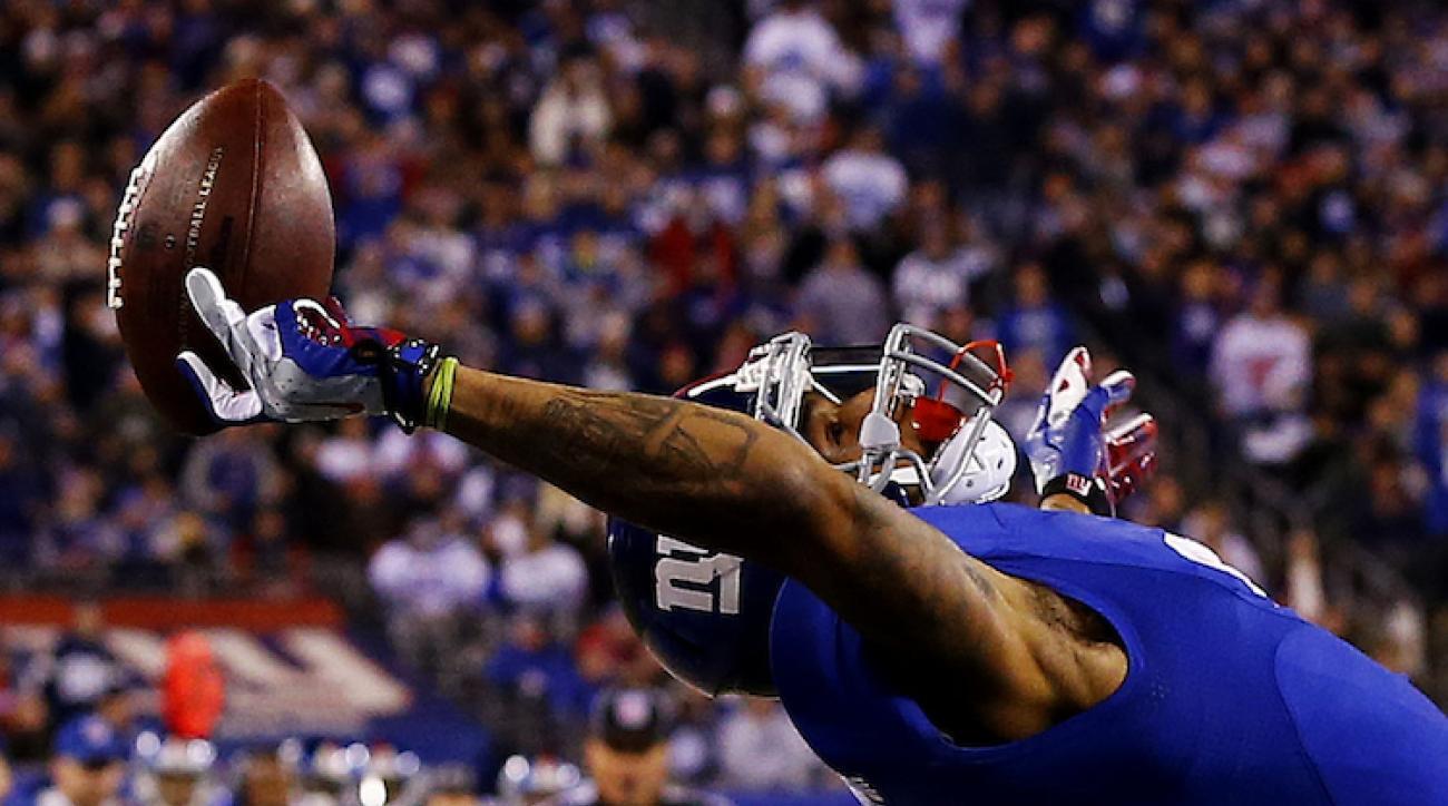 New York Giants WR Odell Beckham Jr makes insane one handed catch