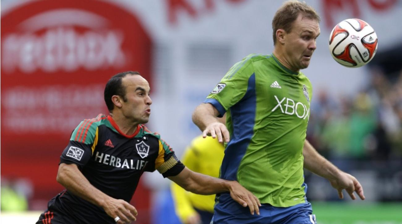 Sounders' Chad Marshall Defender of the Year