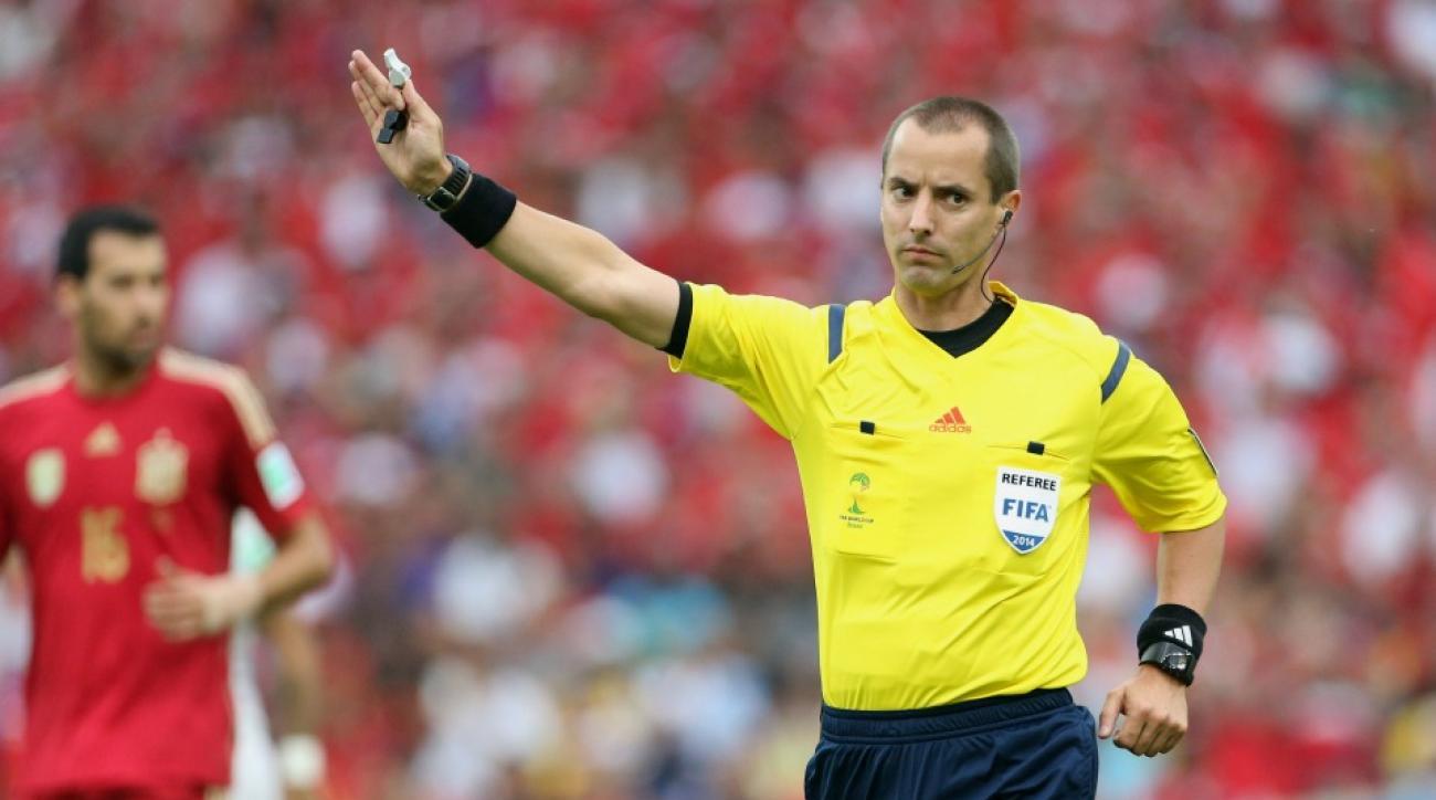 Mark Geiger referee