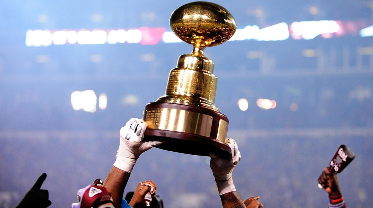 Mississippi State Bulldogs Ole Miss Rebels egg bowl watch online