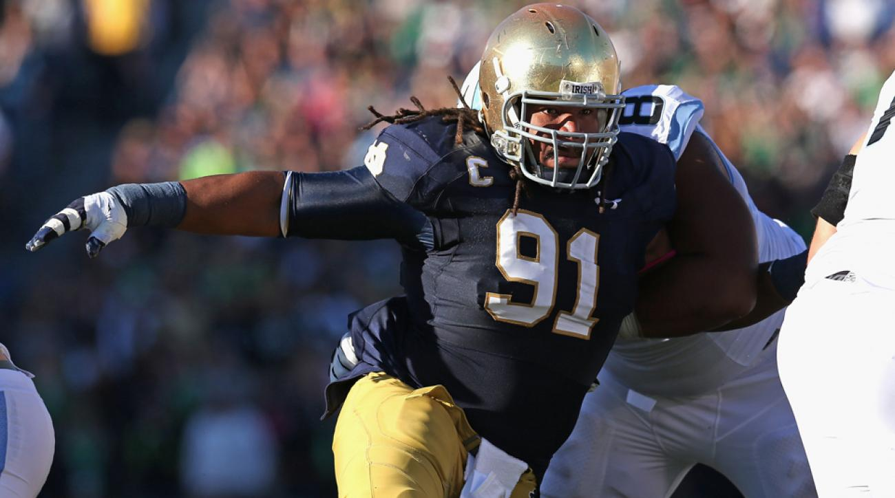notre dame jarron jones sheldon day injury