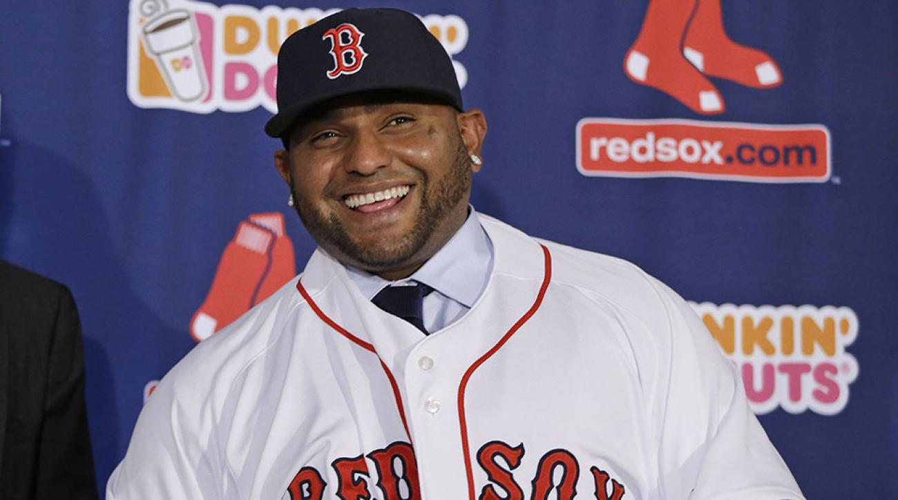Boston Red Sox Pablo Sandoval